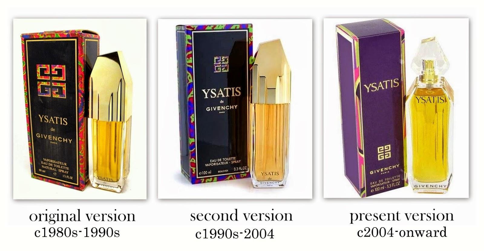 Givenchy Perfumes Ysatis By Givenchy C1984