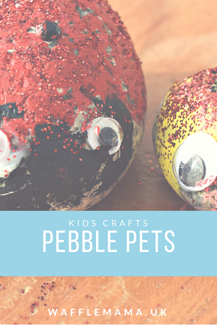 pebble painting crafts for kids stone rock