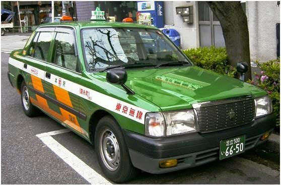 天下留學: 留學常識-日本計程車