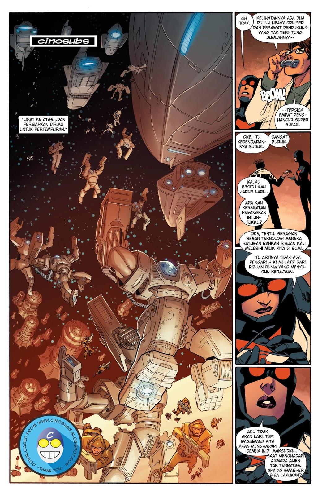 komik the avengers #5 (2012) - komik pos - baca komik