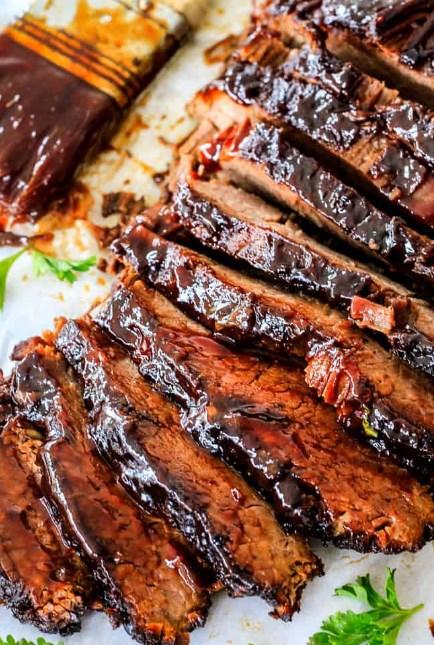 Slow Cooker Beef Brisket #slowcooker #beef