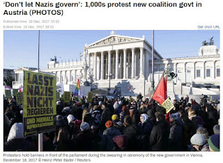 1,000s protest new coalition govt in Austria