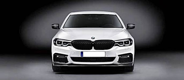 2017 BMW 5 Series Sedan with M Performance accessories