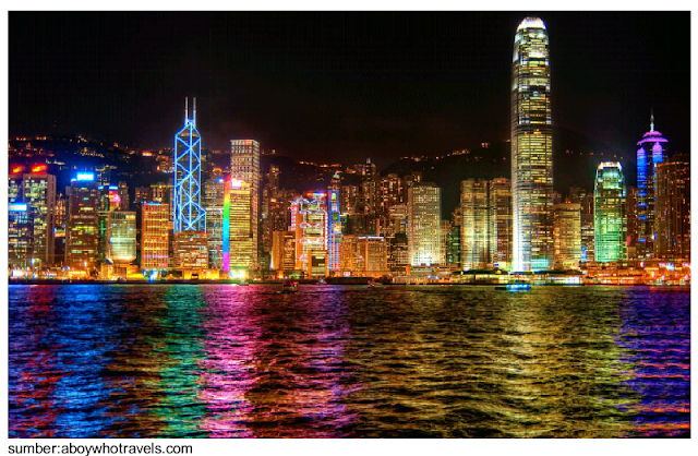 Symphony of light hongkong