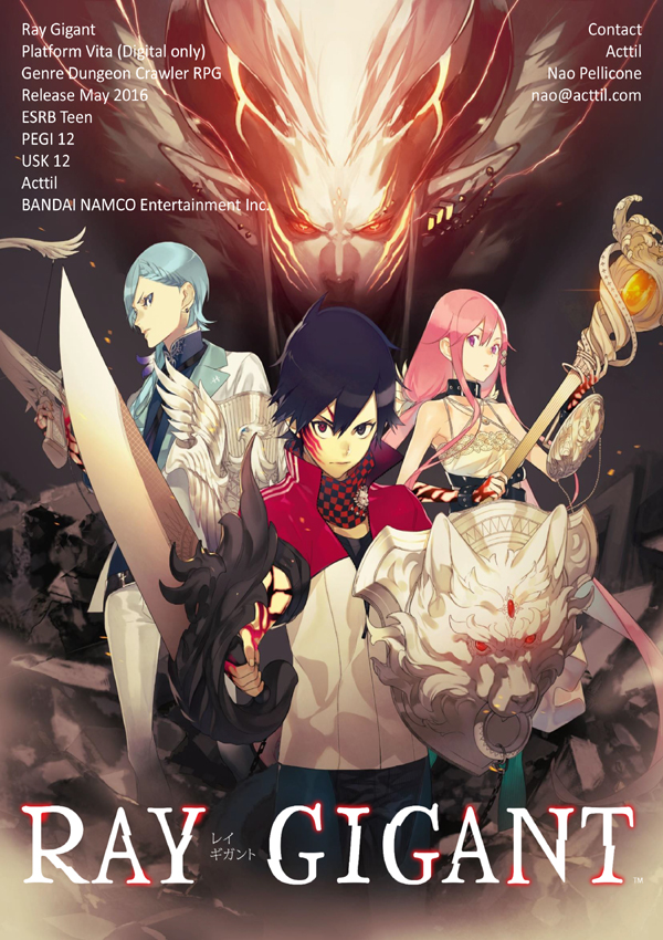 Ray Gigant Download Cover Free Game