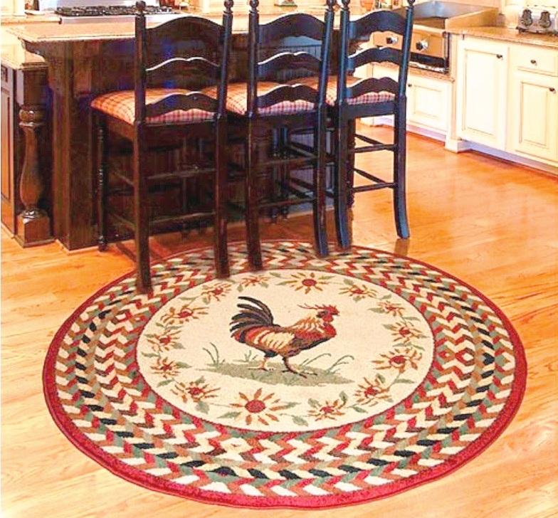 Superbe Round Rugs For The Kitchen | Oriental Designer Rugs