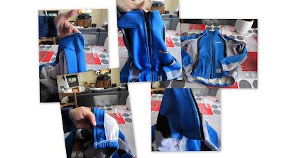 couture pour debutant e s changer la fermeture claire d 39 une veste de sport pas pas avec la. Black Bedroom Furniture Sets. Home Design Ideas
