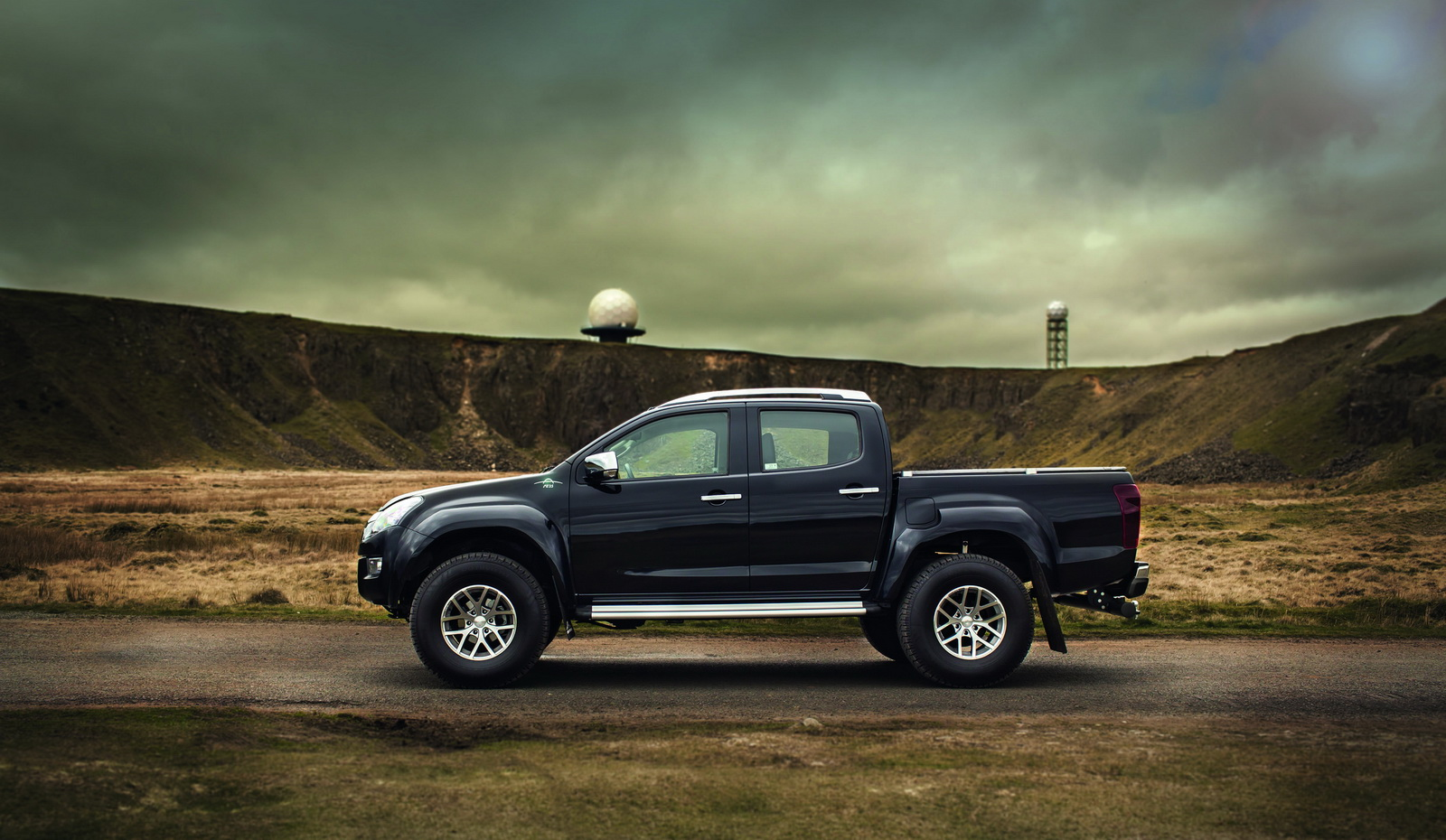 isuzu launches badass d max at35 with the kind help of. Black Bedroom Furniture Sets. Home Design Ideas