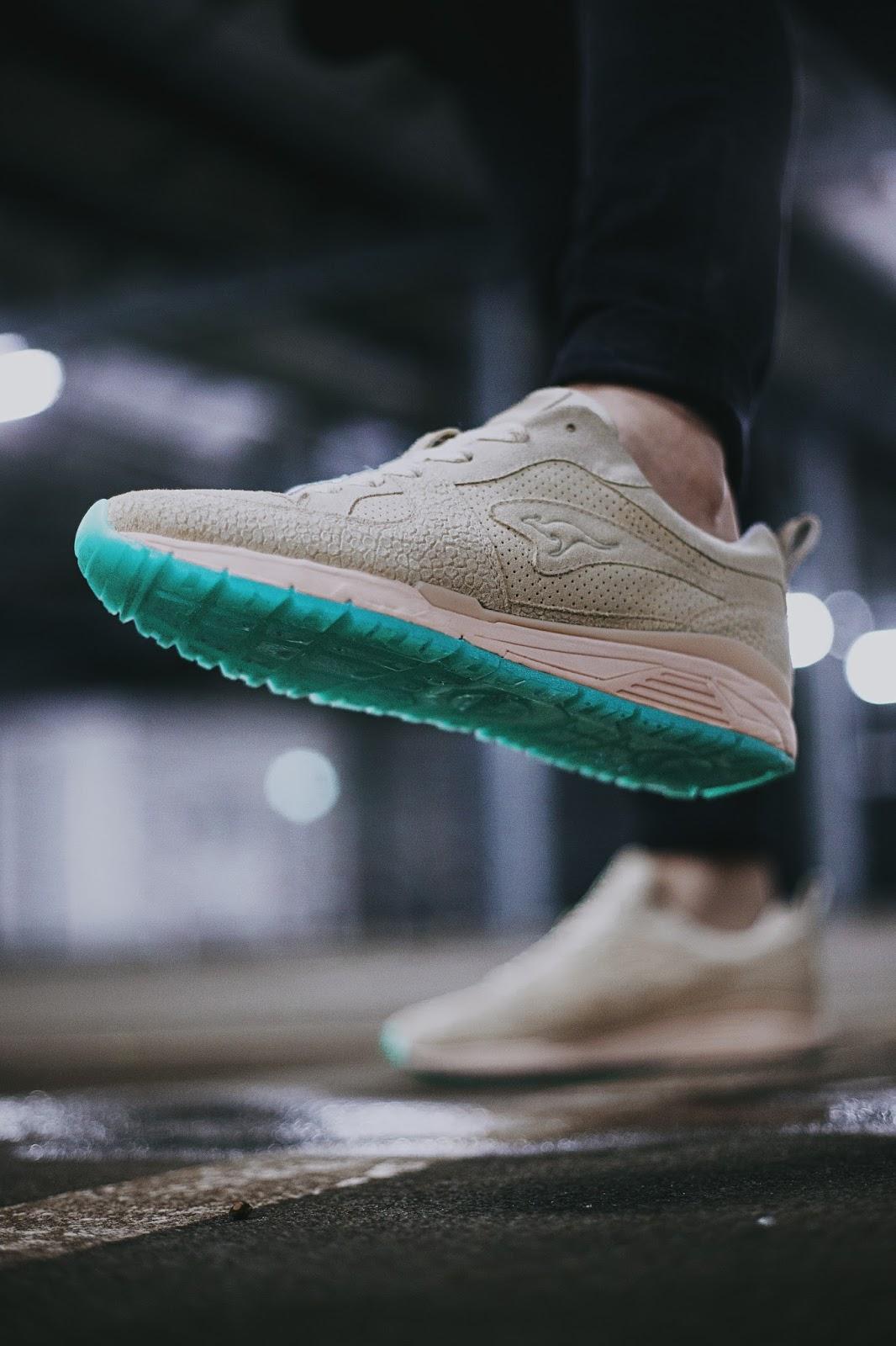 Kangaroos x Sapato x documenta - On Feet Pics eines exklusiven Sneaker