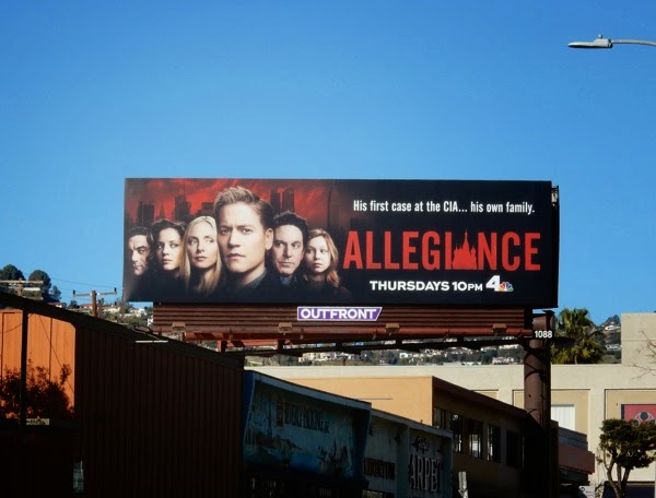 Allegiance season 1 billboard