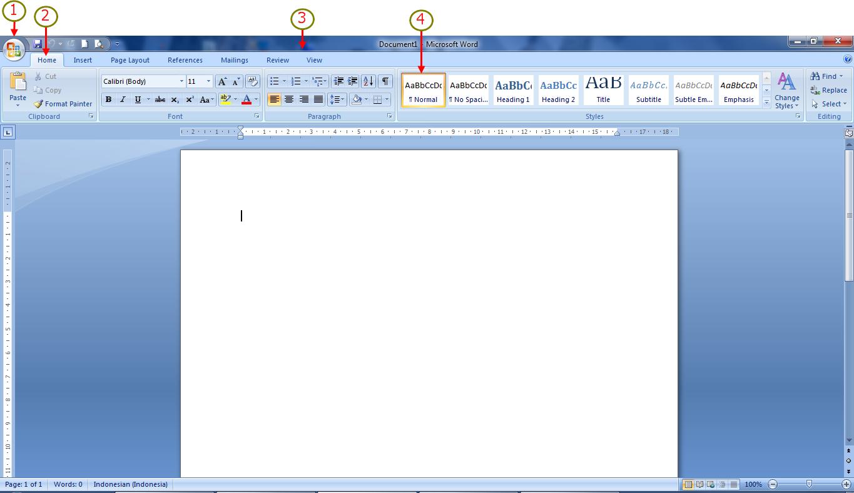 Mengenal Fungsi Dari Tab Home Microsoft Office Word