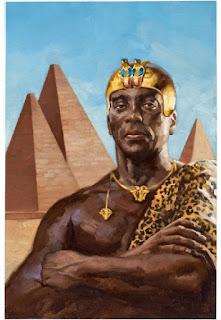 مملكة النوبه والصراع العسكرى بين المصريين القدماء والآشوريين