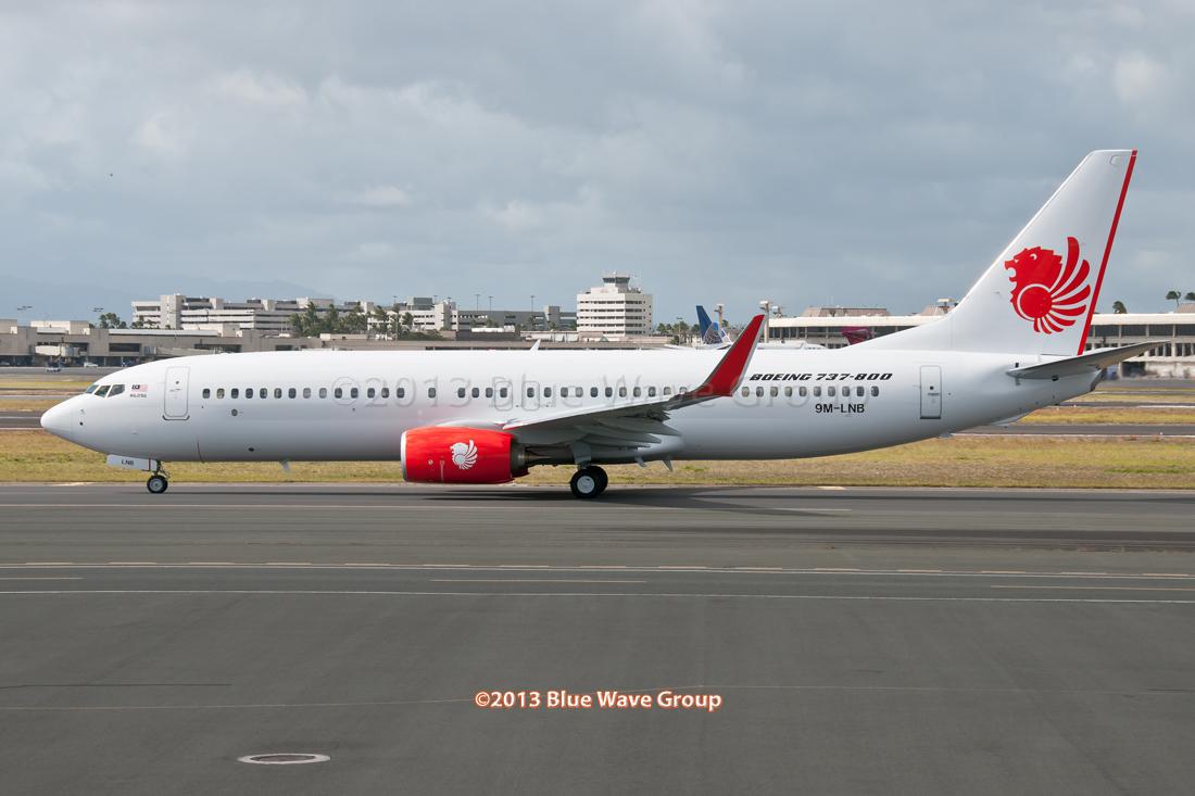Malindo Air: HNL RareBirds: Malindo Air's 9M-LNB