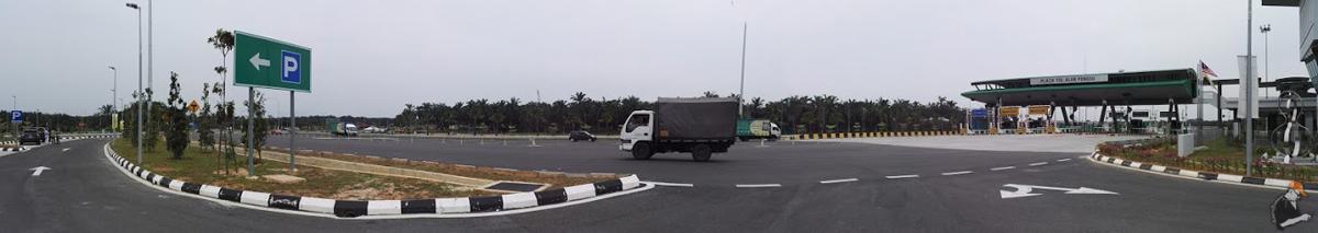 Gambar Panorama Plaza Tol Alor Pongsu
