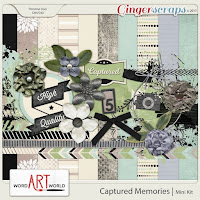 kit : Captured memories Mini kit by Word Art World