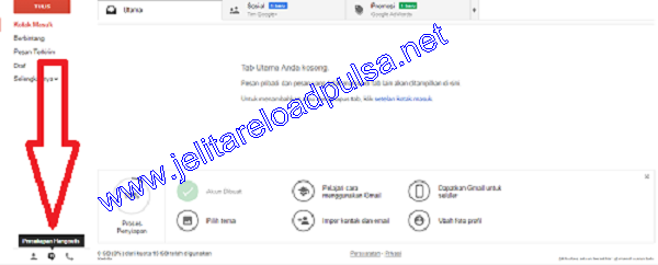 Cara Transaksi Pulsa Via Hangouts dan Gtalk Jelita Reload Pulsa