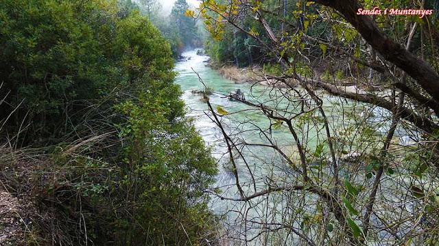 Con mucha agua, río Borosa, Pontones, Sierra de Cazorla, Jaén, Andalucía
