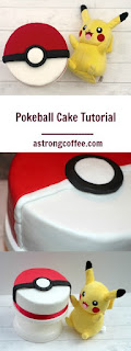 Easy to make pokeball cake tutorial for a pokemon go fan