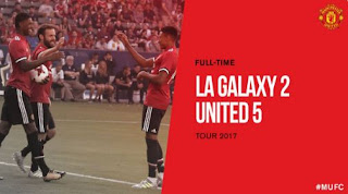Video Gol LA Galaxy 2-5 Manchester United - Tur Pramusim 2017 Amerika Serikat