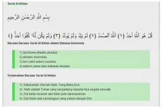 Bacaan Doa Shalat Muhammadiyah Lengkap