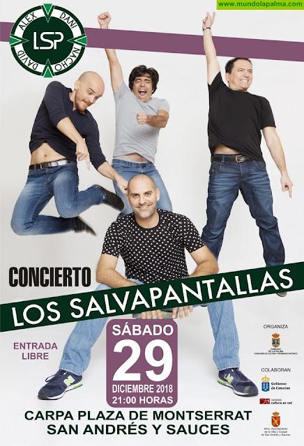 El Cabildo organiza este sábado una actuación gratuita de Los Salvapantallas en San Andrés y Sauces
