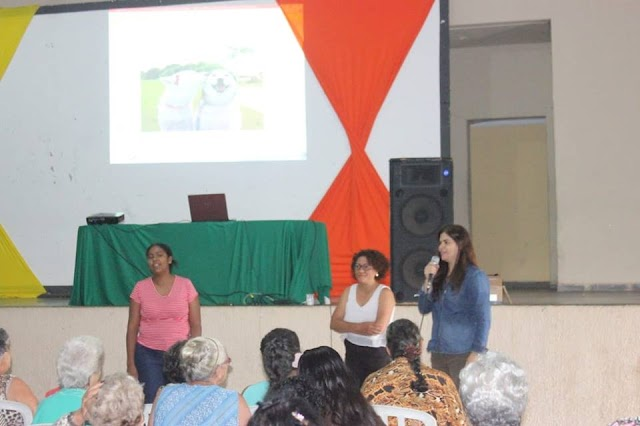 Senador Canedo: Alimentação saudável é tema de palestra com idosos