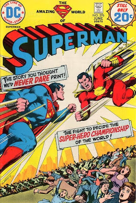 Superman #276, Captain Thunder/Marvel