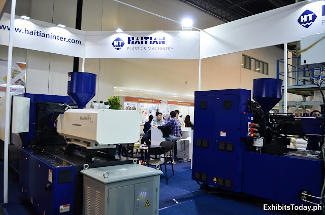 Haitian Plastics Machinery Exhibit Pavilion (inside)