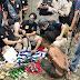 8 Warga Ditangkap, Pistol dan Ratusan Amunisi Ditemukan