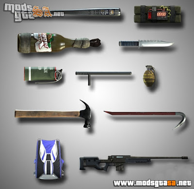 Pack de Armas do GTA V