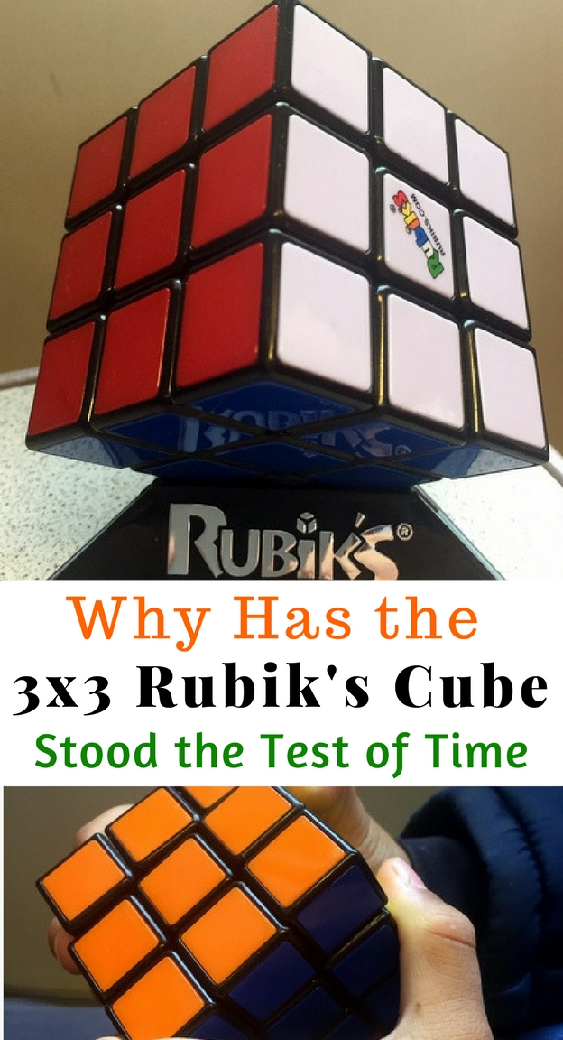 Some things stand the test of time. The Rubik's Cube is one of them. In a day and age when attention spans are getting shorter, screen times are getting longer and fingers seek to fidget constantly, the Rubik's Cube continues to endure. It enhances problem solving skills and logical thinking. It improves concentration and focus. It improves dexterity.