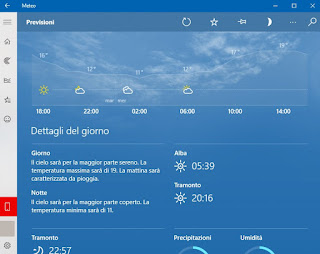 Meteo Windows