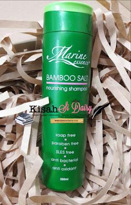 image Marine Essence Bamboo Salt Shampoo