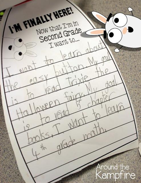 First week of school activities with You're Finally Here! by Melanie Watt