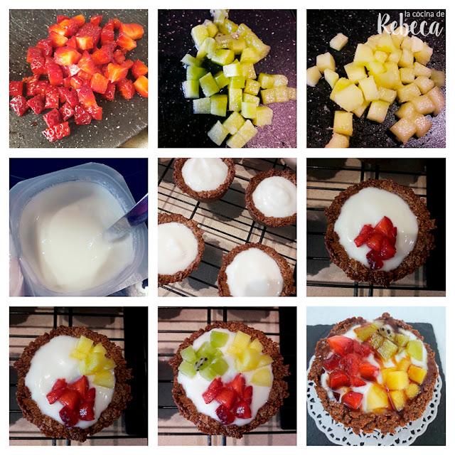 Receta de tartaletas de teff con yogur y fruta 04