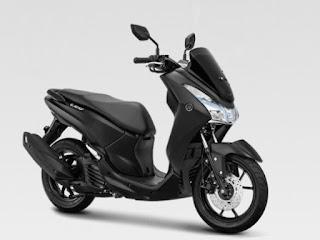 Baru, Yamaha Lexi Hadir dengan Warna Matte Black