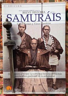 Portada del libro Breve historia de los samuráis, de Carol Gaskin y Vince Hawkins