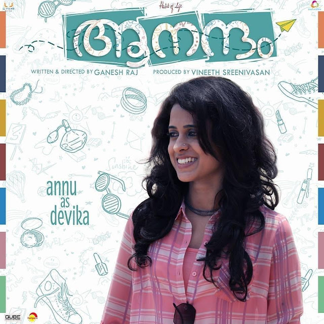 Aanandam Actress Annu Antony Photos - Aanandam Devika aka Devooty Photos