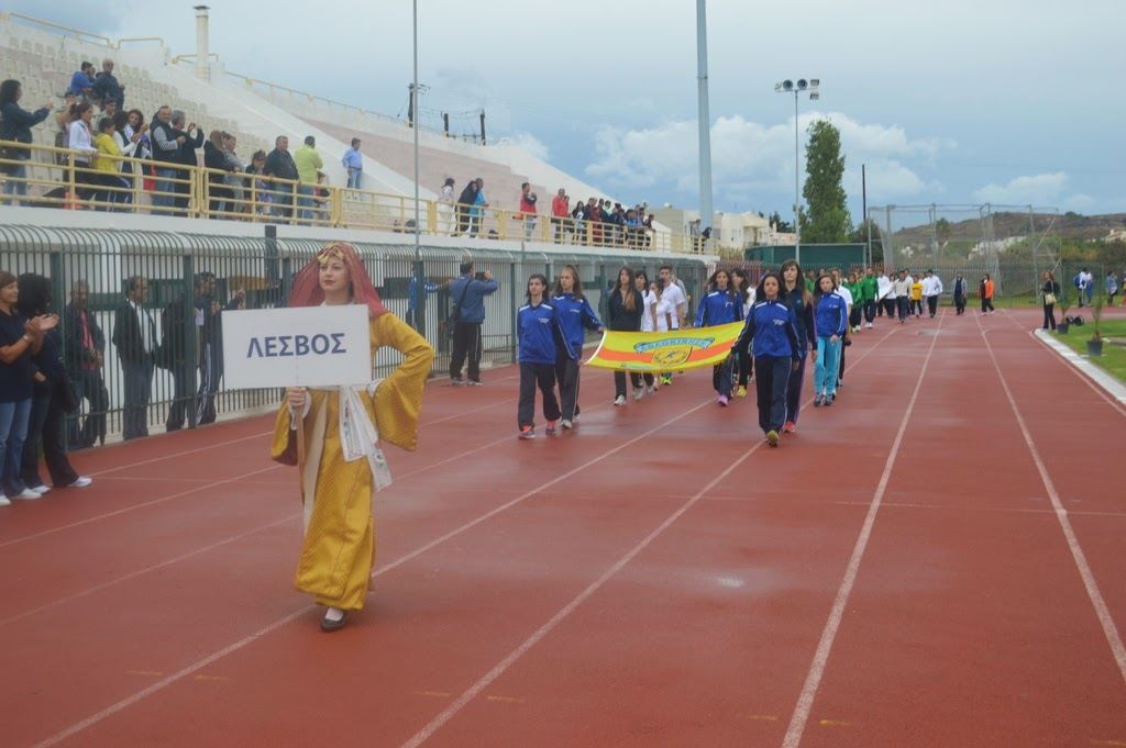 Πολλές επιτυχίες στους σχολικούς αγώνες για τους μαθητές της Λέσβου- Συγχαρητήρια επιστολή της Διδε Ν. Λέσβου