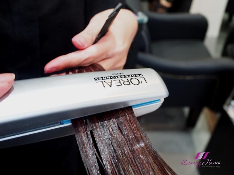 clover hair deals loreal pro fiber ice ironing