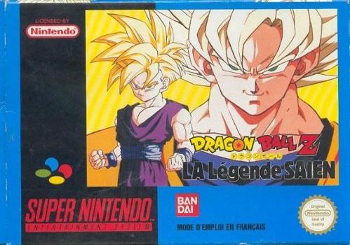 Dragon Ball Z: La Legende Saien [Traducido al ingles] - Portada
