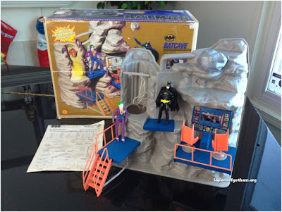 Toy Biz Batcave Playset Toy Batman