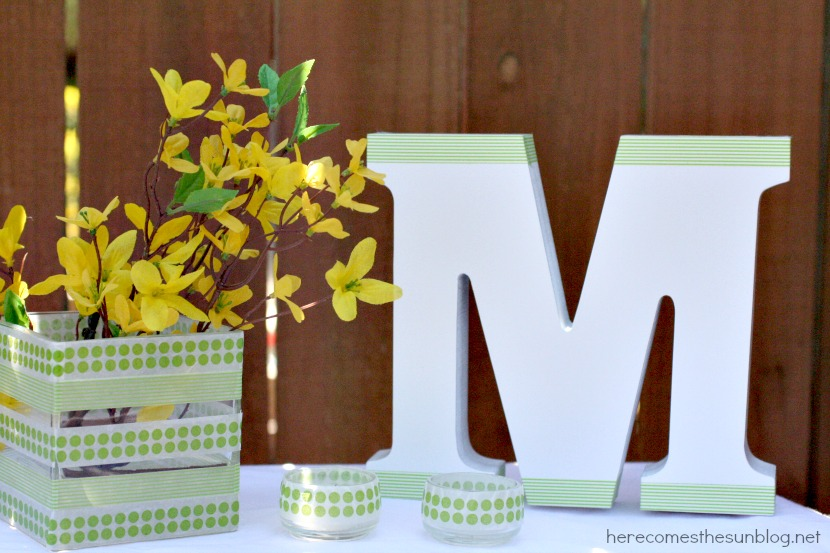Here Comes the Sun: DIY Wedding: Spring Table Decor