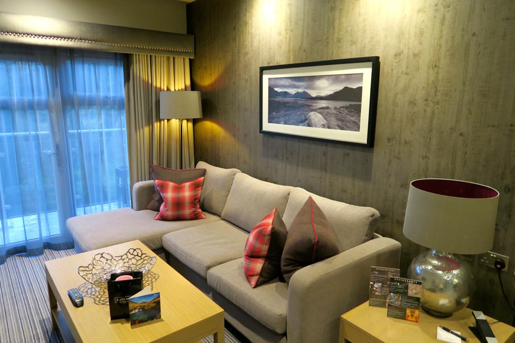 executive suite at auchrannie resort