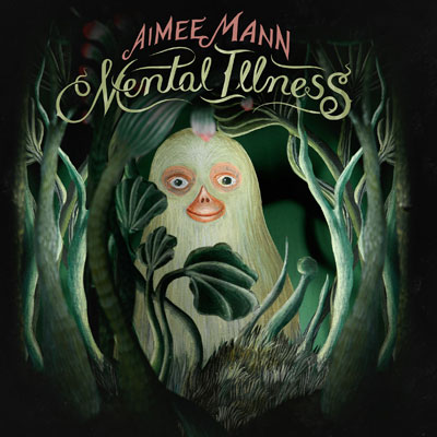 The 10 Best Album Cover Artworks of 2017: 10. Aimee Mann - Mental Illness