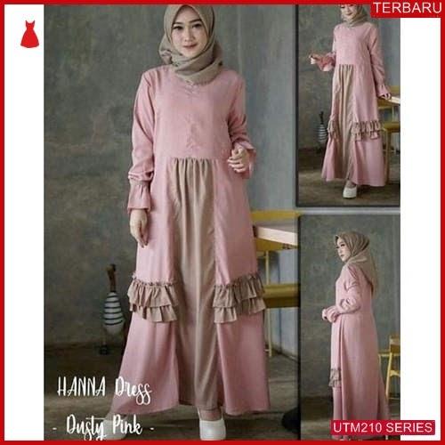 UTM210H62 Baju Hana Muslim Dress UTM210H62 0D2 | Terbaru BMGShop