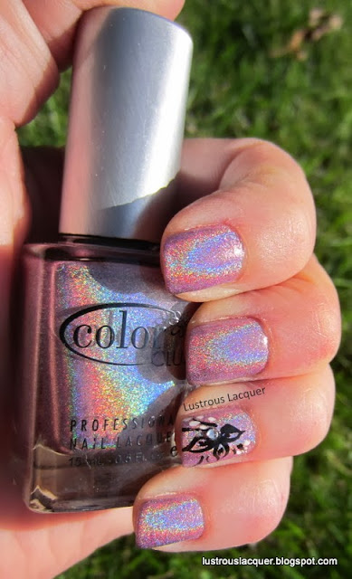Color Club Clord Nine, Holographic pink