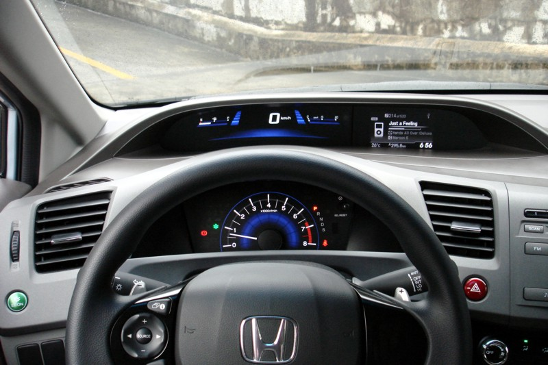 Hard Plastics Cover Most Of The Interior, And This The Largely The Most  Disappointing Thing With The New Civic. Nonetheless, You Can Give Credit To  Honda ...