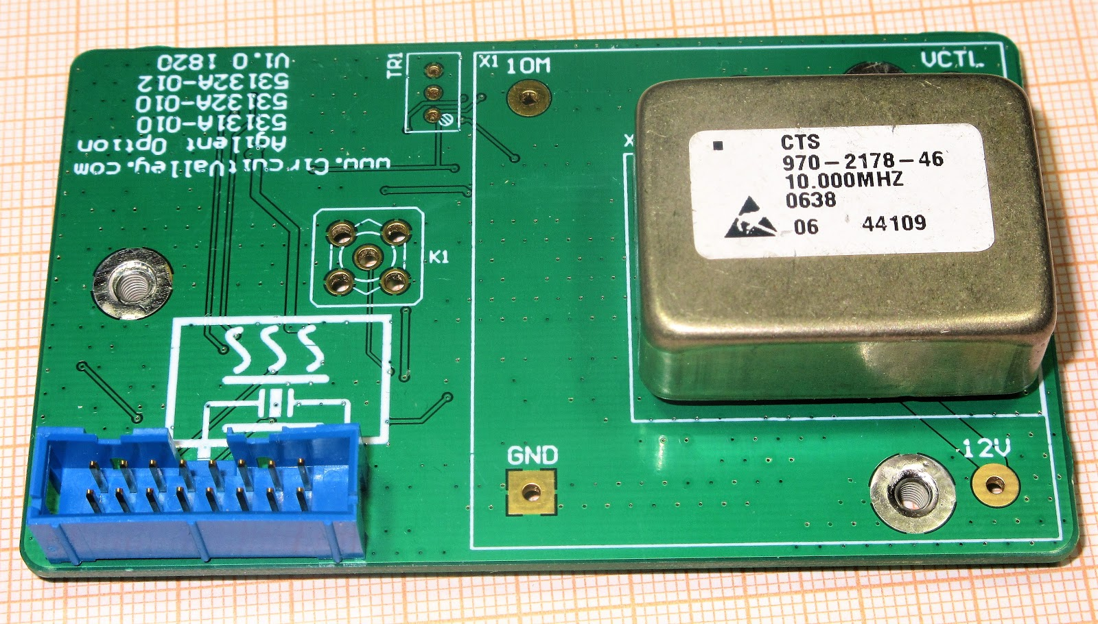 Embedded Engineering : Open Source DIY Agilent 53132A 53131A