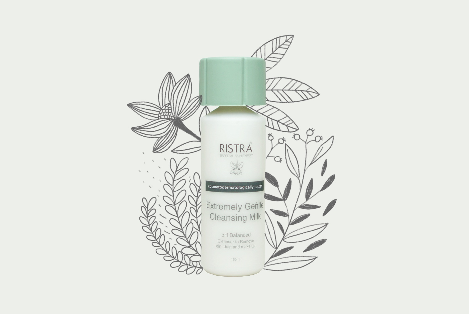 review cleansing milk ristra